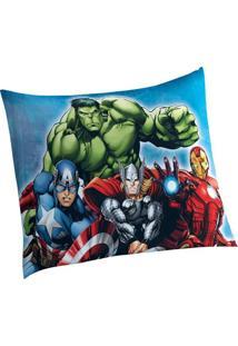 Fronha Avulsa Avengers 1 Peça - Lepper
