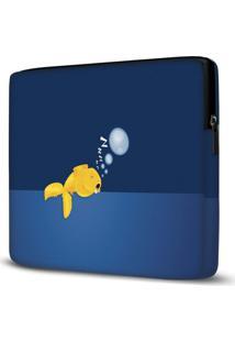 Capa Para Notebook Fish Sleeping 15 Polegadas
