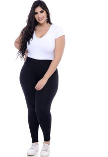 Legging Plus Size Basic Black