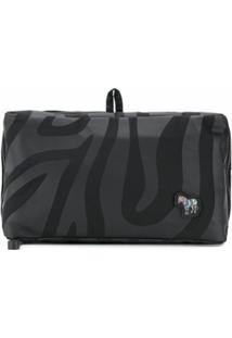 Ps Paul Smith Necessaire Animal Print - Preto