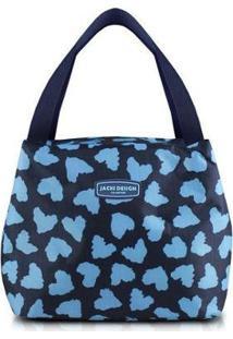 Bolsa Térmica Jacki Design Bem-Estar - Unissex-Azul