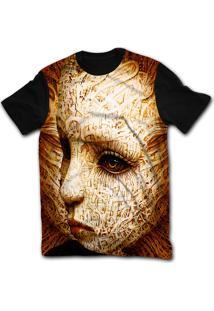 Camiseta Manga Curta Stompy Psicodelica 54 Preto