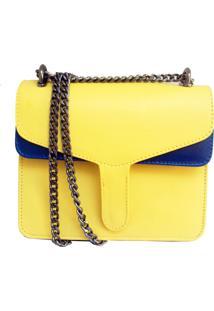 Bolsa Transversal Cakau Acessórios Amarelo