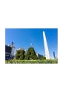 Painel Adesivo De Parede - Buenos Aires - Argentina - Obelisco - 1685Png