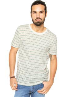 Camiseta Sommer Listras Off-White