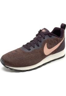 Tênis Nike Sportswear Wmns Nike Md Runner 2 Eng Mesh Marrom/Rosa