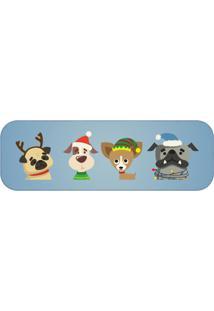 Passadeira Natal Dog Único Love Decor