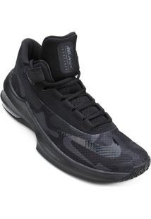 Tênis Nike Air Max Infuriate 2 Mid Premium Masculino - Masculino-Preto