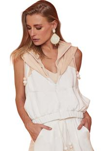 Blusa Garnus Molet Energy Off White