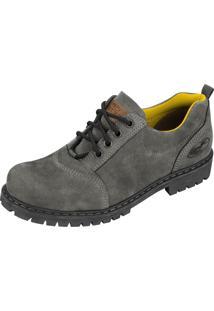 Sapato Beeton Walker403C Cinza