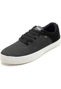 Tênis Ride Skateboard Double Suede Preto