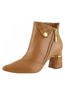 Bota Ankle Boot 81704 - Saara Camel