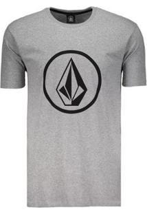 Camiseta Volcom Circle Stone Masculina - Masculino