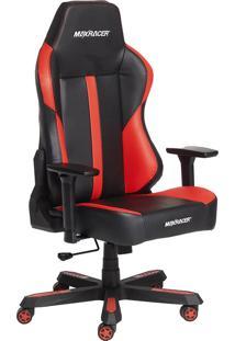 Cadeira Gamer Giratóra Max Racer Bomber Reclinável