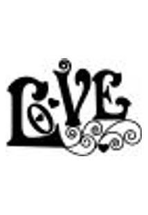 Adesivo De Parede - Love E Corações - 014Rm-M