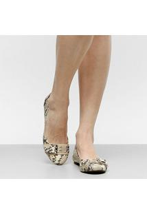 Sapatilha Shoestock Fivela Feminina - Feminino