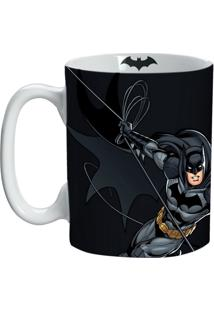 Caneca De Porcelana Preta 135Ml Batman Urban Home