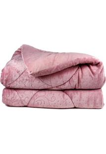 Edredom Casal Altenburg Blend Elegance Rosa Claro