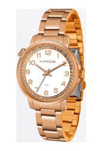 Relógio Feminino Strass Lince Lrr4570L B2Rx