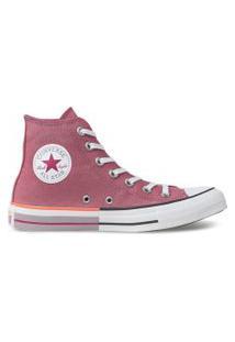Tênis Converse All Star Chuck Taylor Hi Rosa Palido Ct14310003