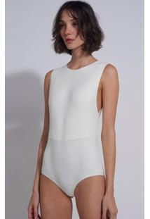 Body Le Lis Blanc Cava Baixa Ana 2 Underwear Off White Feminino (Off White, M)