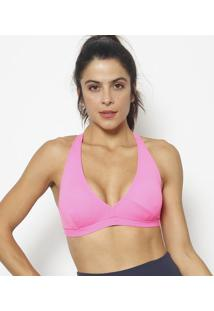 Top Nadador Liso- Pink Neon- Patrapatra