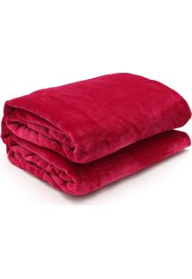 Cobertor Queen Kacyumara Blanket Vinho