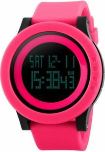 4432562b9e2 Relógio Digital Analogico Plastico feminino