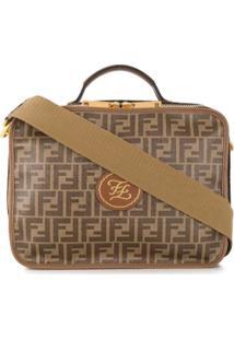 Fendi Small Ff Logo Travel Bag - Neutro