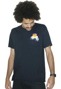 Camiseta Outstanding Go Away Preta