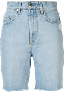 Nobody Denim Short Jeans Tyler - Azul
