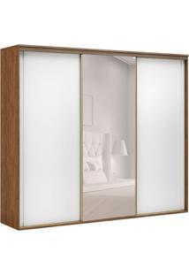 Guarda-Roupa Casal Com Espelho Inovatto Ll 3 Pt 6 Gv Álamo