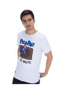 Camiseta Ecko Pica-Pau E617A - Masculina - Branco
