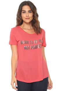 Camiseta Canal Real Rosa