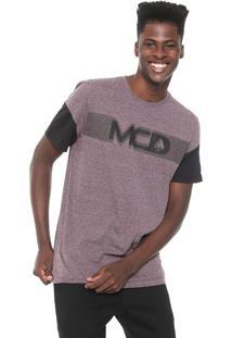 Camiseta Mcd Especial Roxa