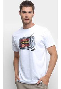 Camiseta Volcom Slim Thinker Masculina - Masculino