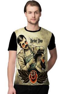 Camiseta Stompy Barbershop Masculino - Masculino