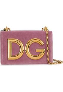 Dolce & Gabbana Bolsa Tiracolo 'Dg Girls' - Rosa