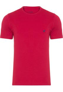 Camiseta Masculina Rafael - Vermelho