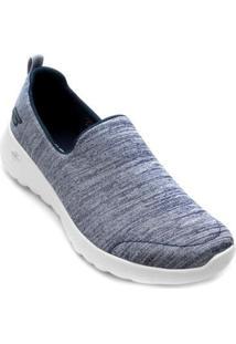 Tênis Skechers Go Walk Joy Feminino - Feminino-Azul