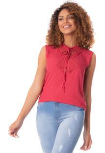 Blusa Feminina Mochine Vermelho - G