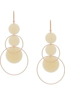 Isabel Marant Orb Dorp Earrings - Metálico