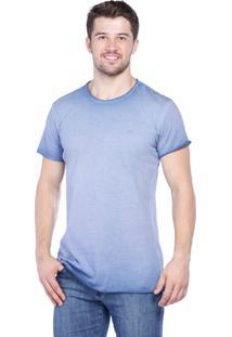 Camiseta Javali Slim Azul Claro