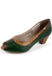Sapato Miuzzi Verde - Kanui