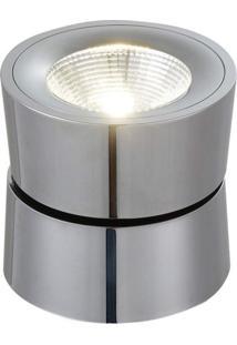 Spot Sobrepor Redondo 10X10Cm 10W Led 3000K Luz Amarela Bella Iluminação Bivolt