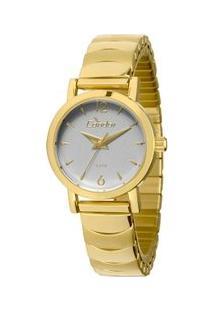 Relógio Condor Eterna Mini - Feminino-Dourado+Branco