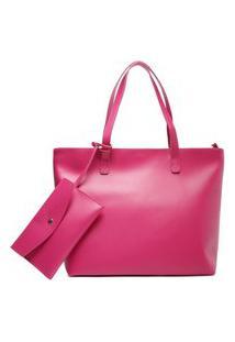 Bolsa Shopping Rosa Pink Mercato Grande | Arezzo