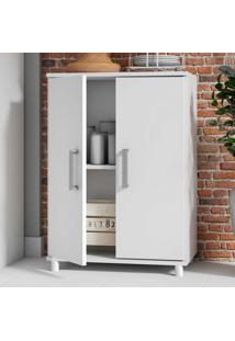 Armário De Cozinha 2 Portas Bmu105 Branco - Brv Móveis