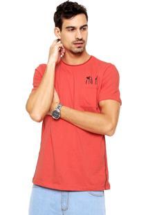 Camiseta Enfim Botonê Vermelha