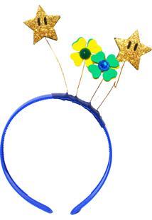 Tiara Ania Store Taça É Nossa Azul